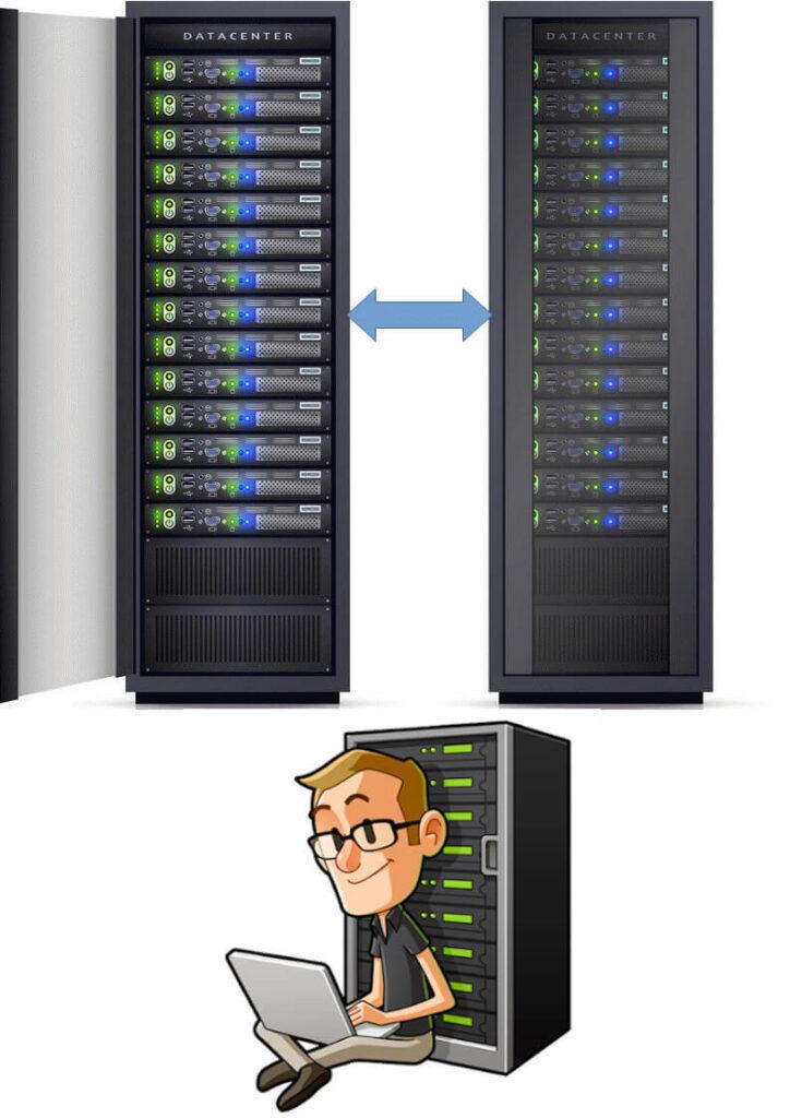 Услуги по настройке и администрированию серверов